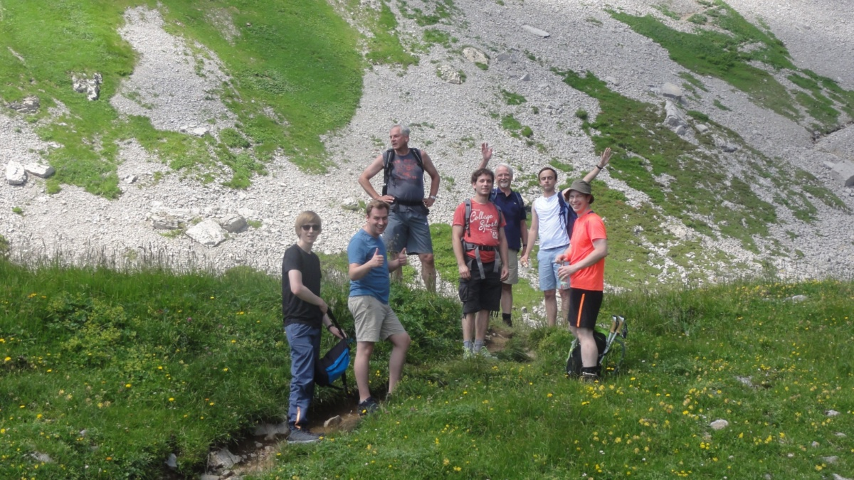 Söllerhaus-Seminar 2018 Hikes in the mountains during our seminar (c)